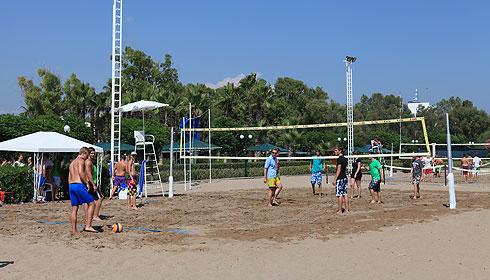 Beachvolleyball in Side