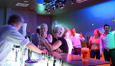 Party im Salzkammergut
