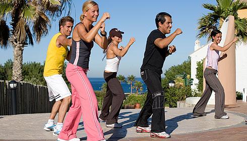 fitness im Club