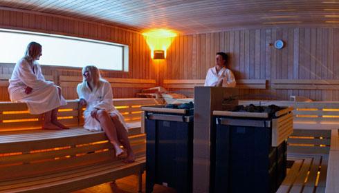 Sauna im Salzkammergut